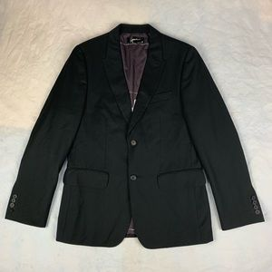 40 Hause Of Howe Black Suit Blazer